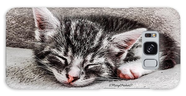 Finally Asleep  Copyright Mary Lee Parker 17  Galaxy Case