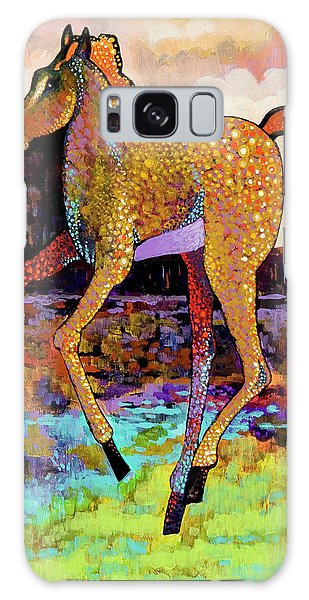 Finding His Legs Galaxy Case by Bob Coonts