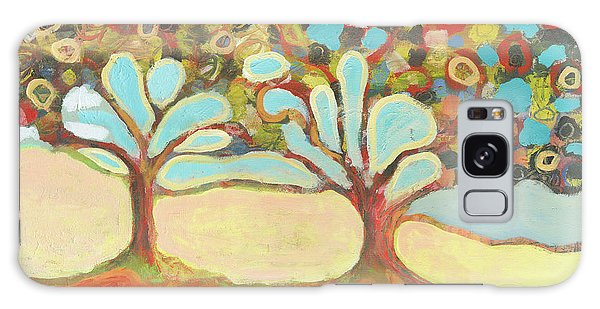 Abstract Landscape Galaxy Case - Finding Strength Together by Jennifer Lommers