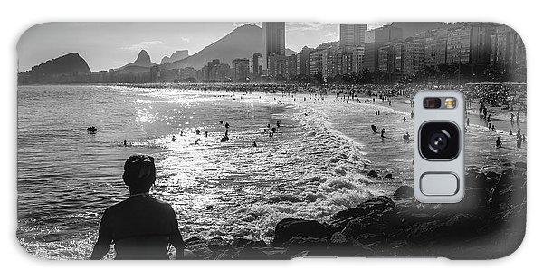 Fine Art Copacabana Rio De Janeiro, Brazil Galaxy Case