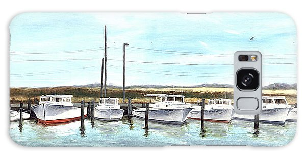 Fine Art Workboats Kent Island Chesapeak Maryland Original Oil Painting Galaxy Case