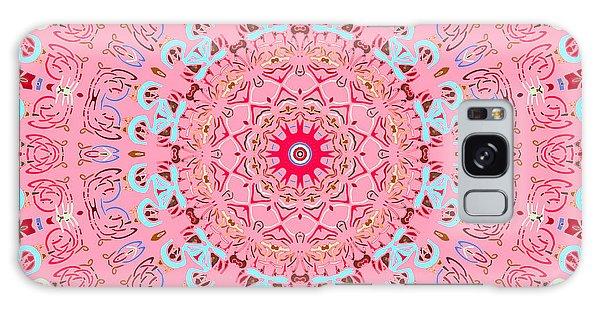 Galaxy Case featuring the digital art Fine China Kaleidoscope by Joy McKenzie