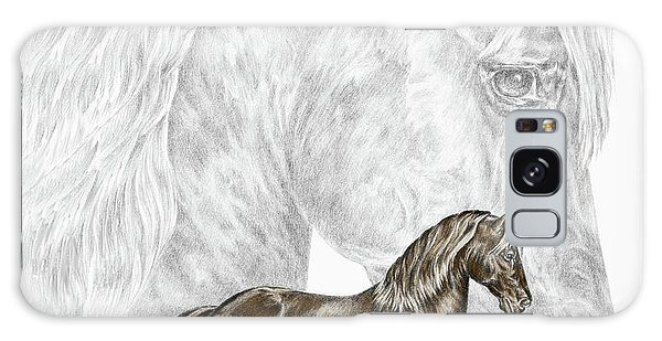 Fine Steps - Paso Fino Horse Print Color Tinted Galaxy Case