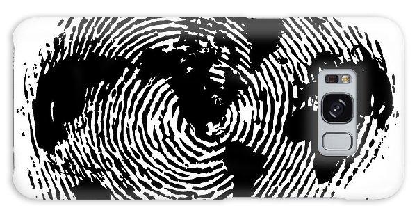 fingerprint 20X30 Galaxy Case
