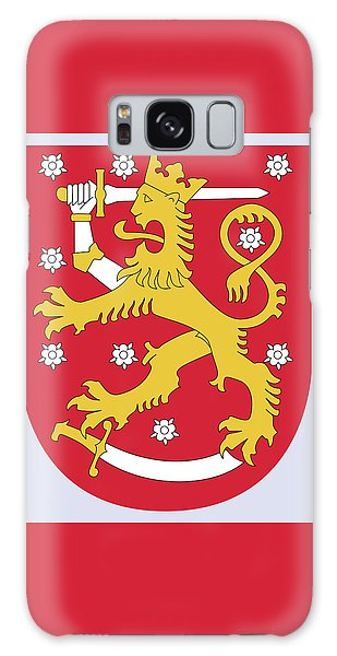 Finland Coat Of Arms Galaxy Case by Movie Poster Prints