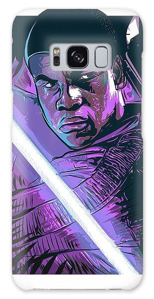 Galaxy Case featuring the digital art Finn by Antonio Romero