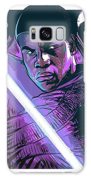 Galaxy Case featuring the digital art Finn by Antonio Romero