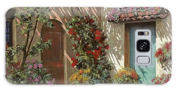 Card Galaxy S8 Case - Fiori In Cortile by Guido Borelli