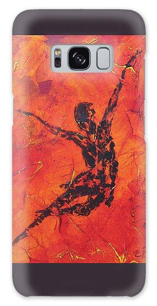 Fire Dancer Galaxy Case