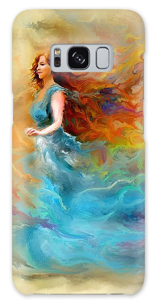 Fire Dancer Galaxy Case