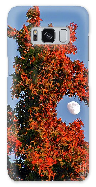 Fire Dragon Tree Eats Moon Galaxy Case