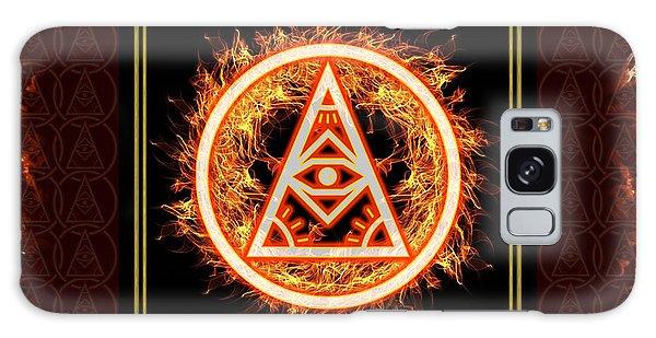 Galaxy Case featuring the digital art Fire Emblem Sigil by Shawn Dall