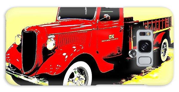 Ok Galaxy Case - Fire Engine Ok by Will Borden