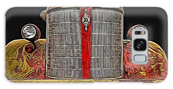 Fire Engine Red Galaxy Case