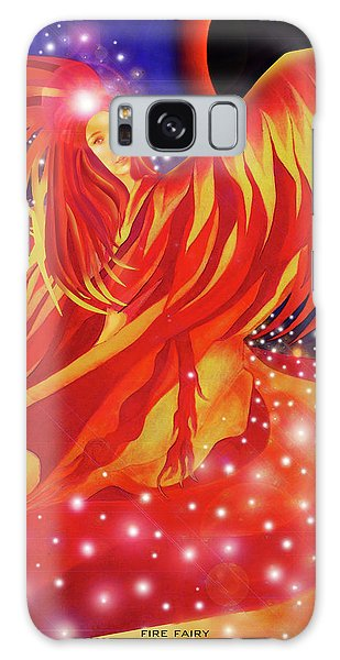 Fire Fairy Galaxy Case
