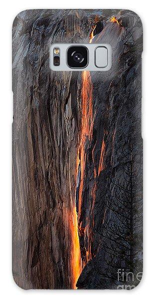 Fire Fall Galaxy Case