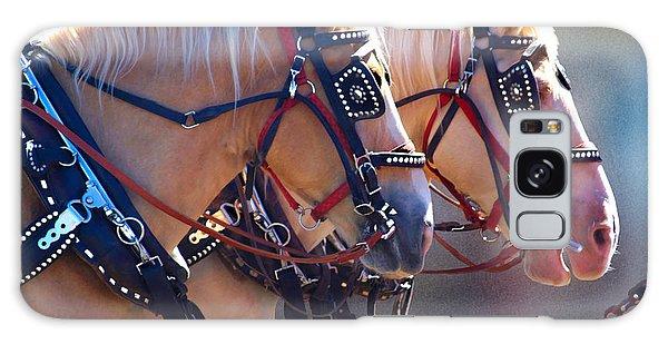 Fire Horses Galaxy Case