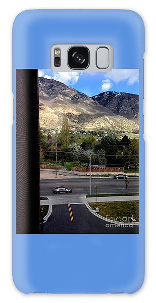 Fire Hydrant Guarding The Byu Y Galaxy Case by Richard W Linford