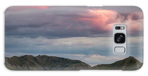 Glow In Clouds Galaxy Case