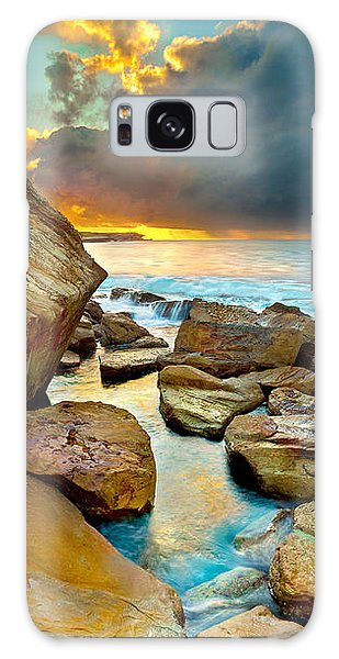 Featured Images Galaxy Case - Fire In The Sky by Az Jackson
