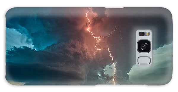 Fire In The Sky. Galaxy Case by James Menzies
