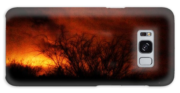 Fire In The Sky Galaxy Case by Nature Macabre Photography