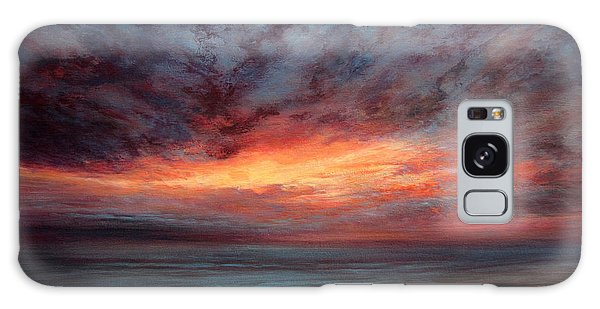 Fire In The Sky Galaxy Case by Valerie Travers