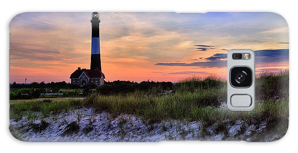 Fire Island Lighthouse Galaxy Case