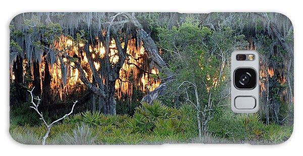 Fire Light Jekyll Island Galaxy Case