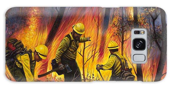 Fire Line 2 Galaxy Case