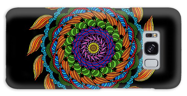 Fire Mandala Galaxy Case