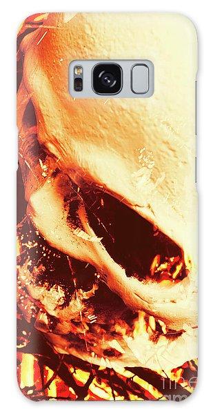 Bone Galaxy Case - Fire Of Doom by Jorgo Photography - Wall Art Gallery