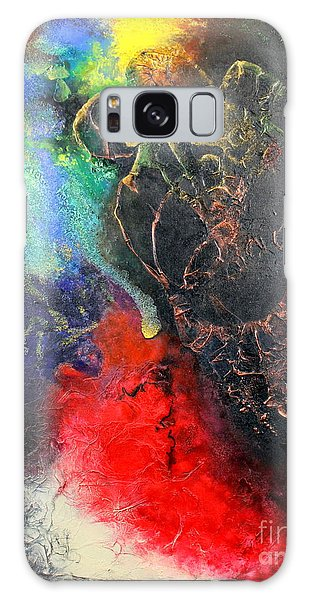 Fire Of Passion Galaxy Case by Farzali Babekhan