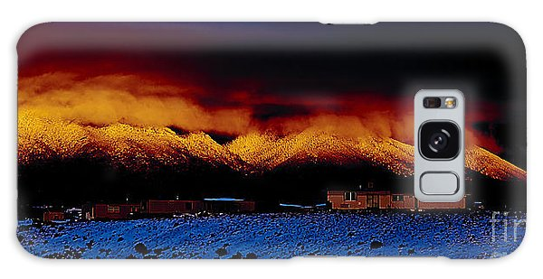 Fire On The Mountain  Galaxy Case