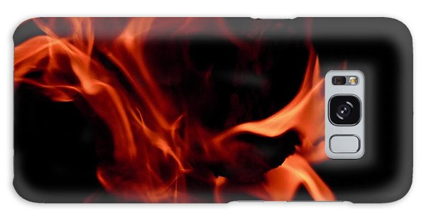 Fire Petals Galaxy Case