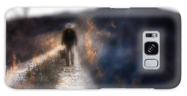 Fire Road Galaxy Case by Gray  Artus