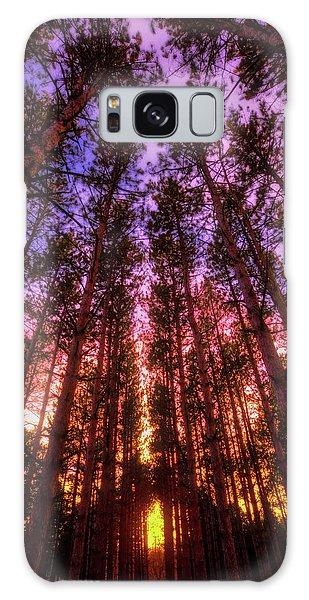 Fire Sky - Sunset At Retzer Nature Center - Waukesha Wisconsin Galaxy Case by Jennifer Rondinelli Reilly - Fine Art Photography