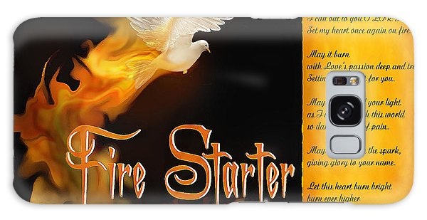 Fire Starter Poem Galaxy Case