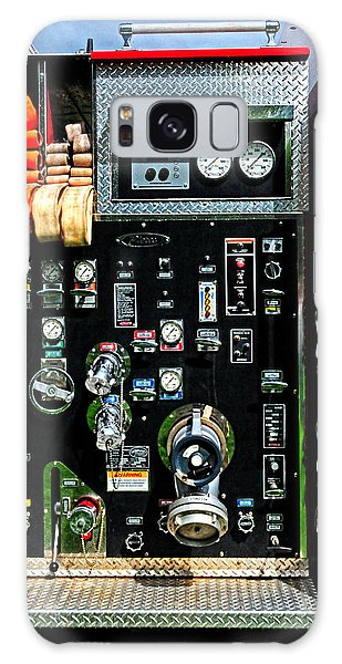 Fire Truck Control Panel Galaxy Case by Dave Mills