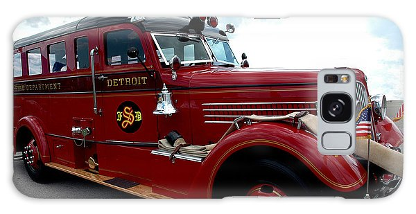 Fire Truck Selfridge Michigan Galaxy Case