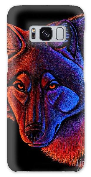 Fire Wolf Galaxy Case