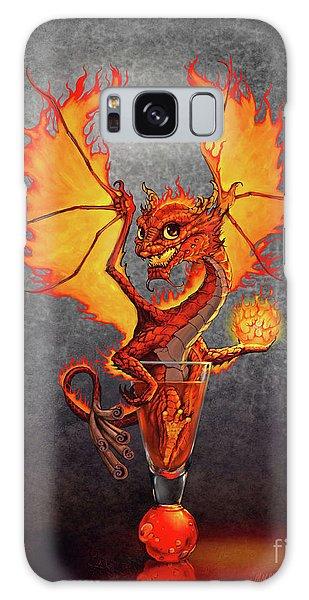 Fireball Dragon Galaxy Case by Stanley Morrison