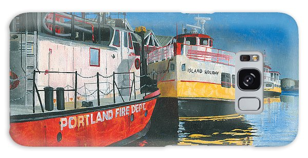 Fireboat And Ferries Galaxy Case