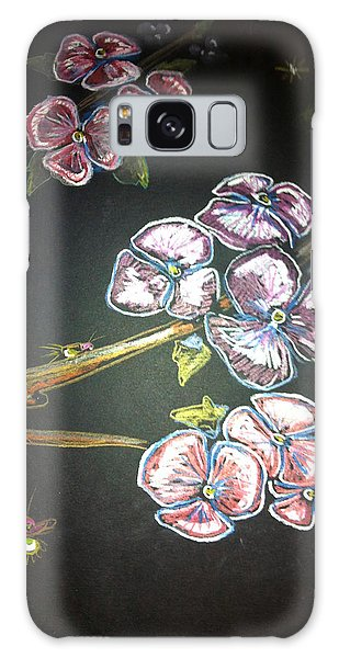 Fireflies And Dogwood Galaxy Case