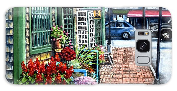 Firefly Lane Bar Harbor Maine Galaxy Case by Eileen Patten Oliver