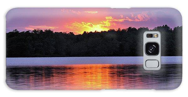 Sunsets Galaxy Case by Glenn Gordon