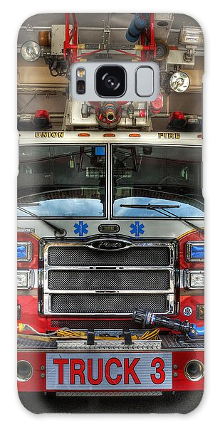 Fireman - Fire Engine Galaxy Case