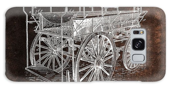 Old Truck Galaxy Case - Fireman's Wagon Patent by Dan Sproul