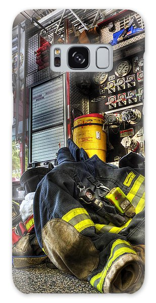 Firemen Always Ready For Duty - Fire Station - Union New Jersey Galaxy Case