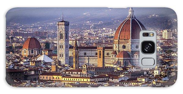 Firenze E Il Duomo Galaxy Case by Sonny Marcyan